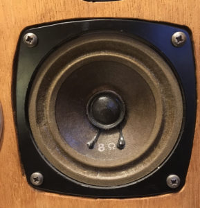 Peerless K040MRF Midrange Speaker Repair