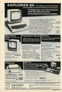 Netronics Explorer 85 from 1979
