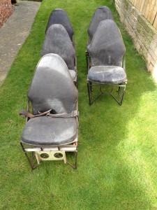 Avro Anson Seats
