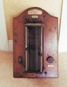 The Horophone as 'discovered'