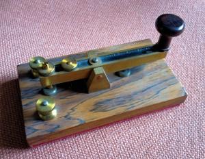 NEIC Morse Key