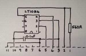 LT1054 based inverter